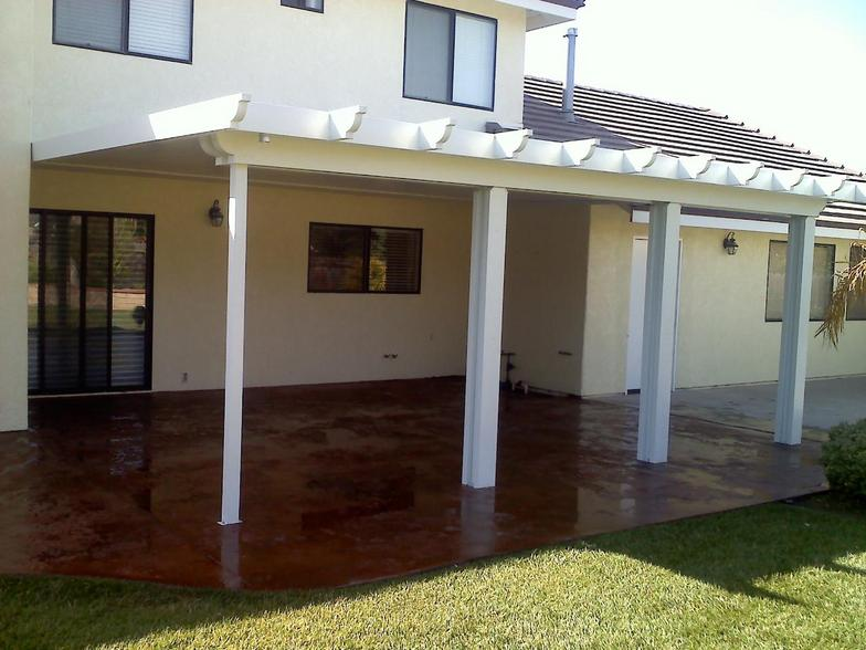 Santa Ynez Custom Designed Patios Awnings And Rain Gutters Call